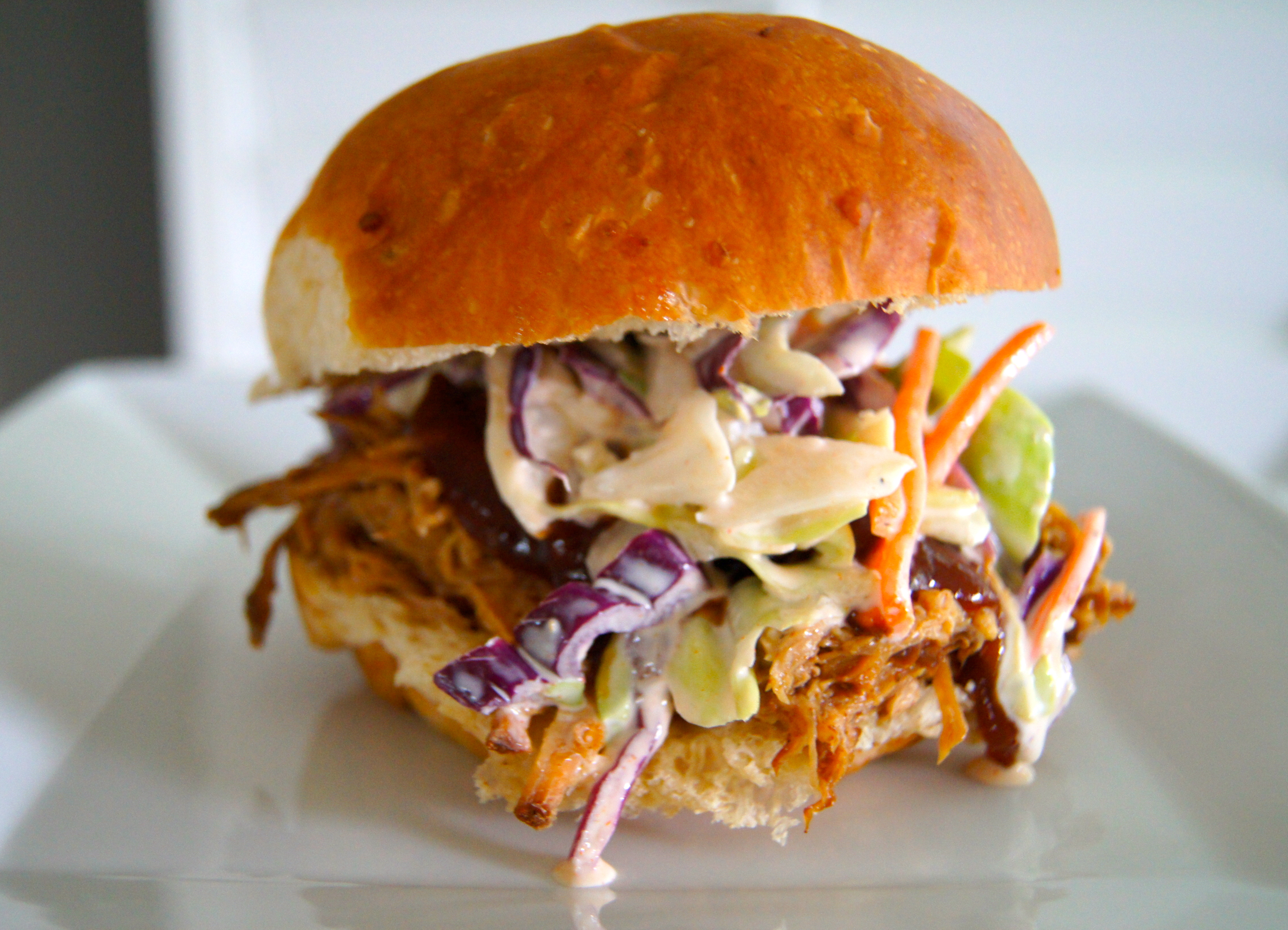 ... to last weeks simple slow cooker pulled pork recipe although a pulled